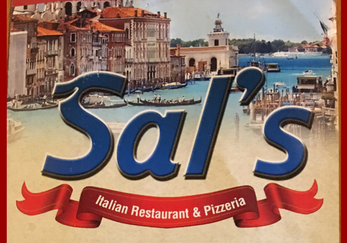 Sal's Italian Restaurant and Pizzeria 1606 Route 37 E. toms river