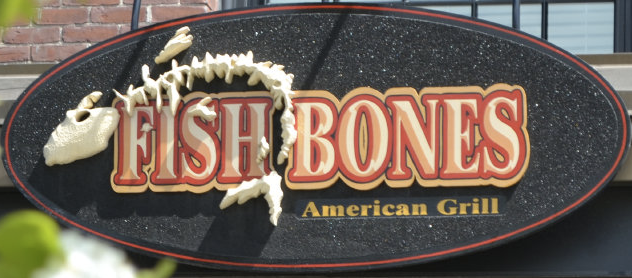 Order food online fish bones american grill 70 lincoln for Fish bone grill